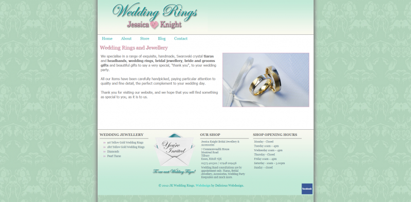 Jessica Knight Wedding Rings