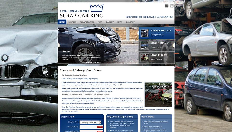 Scrap Car King