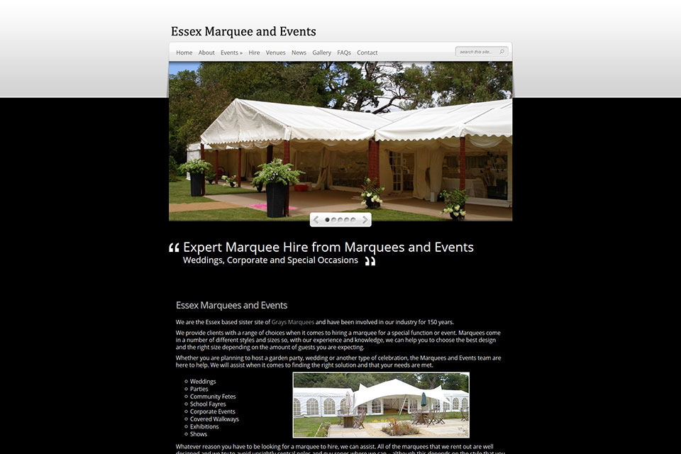 Marquees And Events
