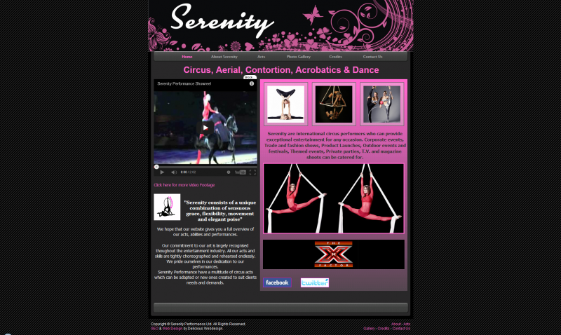 Serenity Performance Aerial Acts