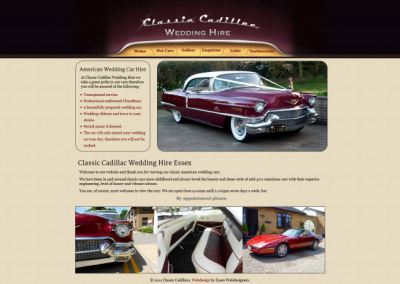 Classic Cadillac Hire