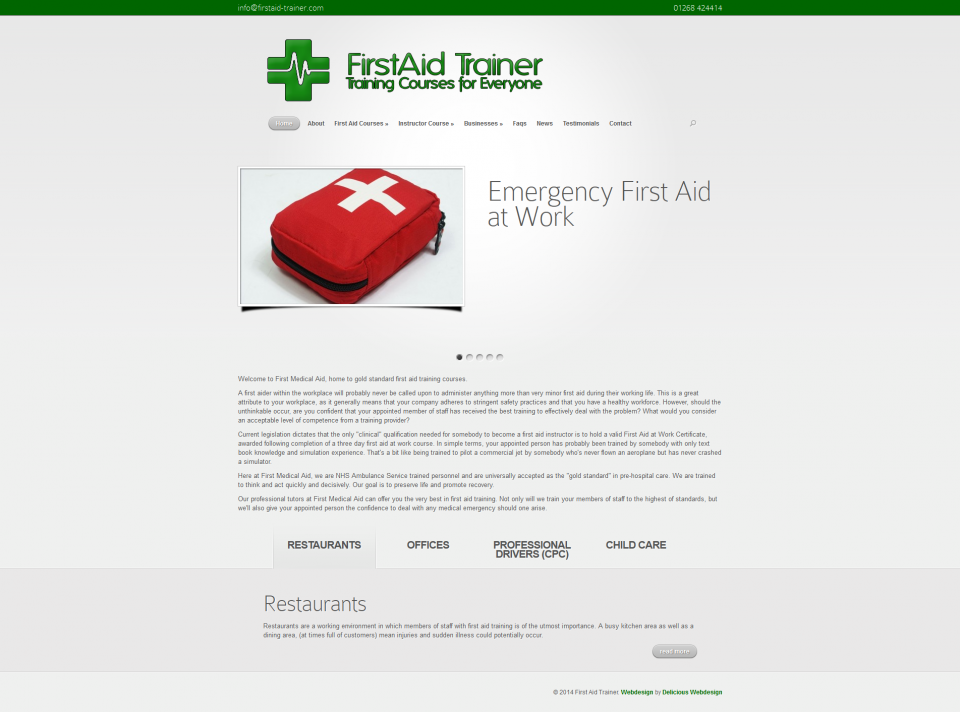 First Aid Trainer