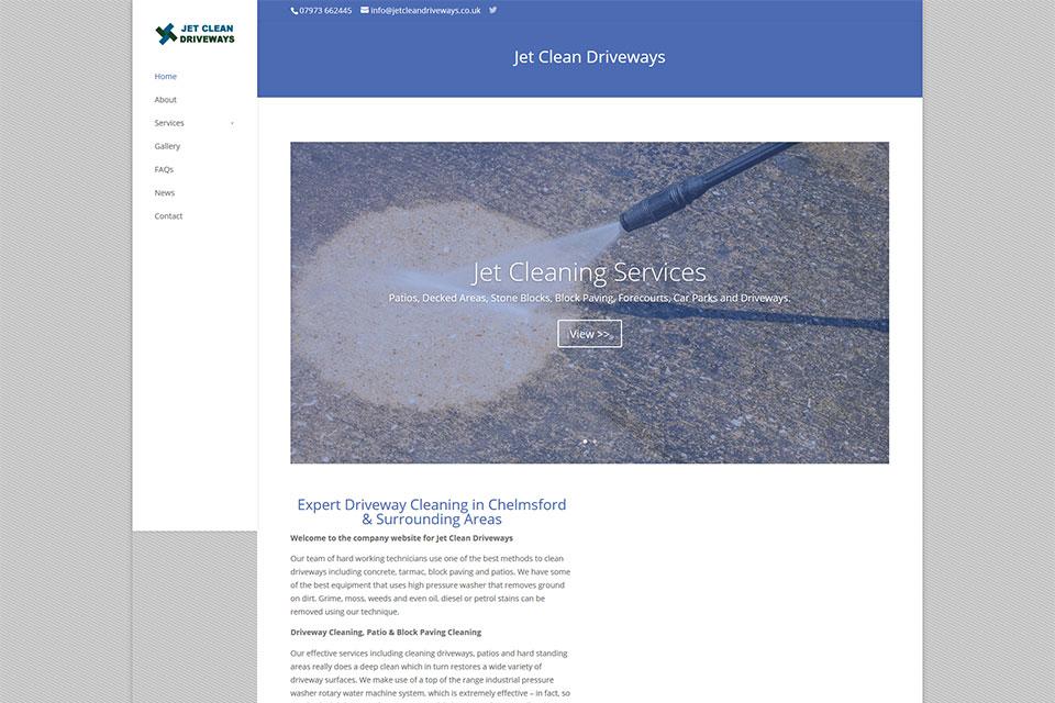 Jet Clean Driveways