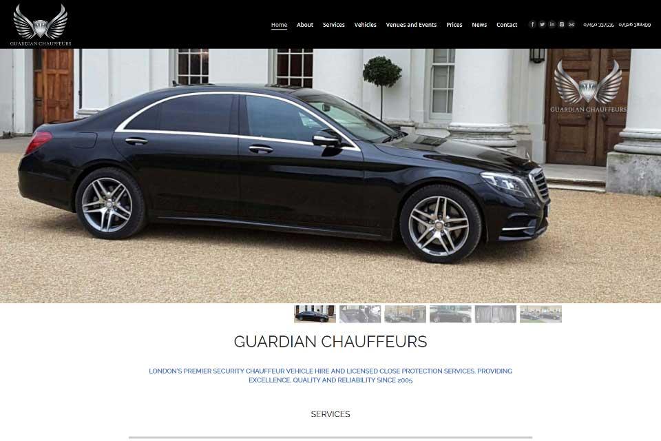 Chauffeur Webdesign