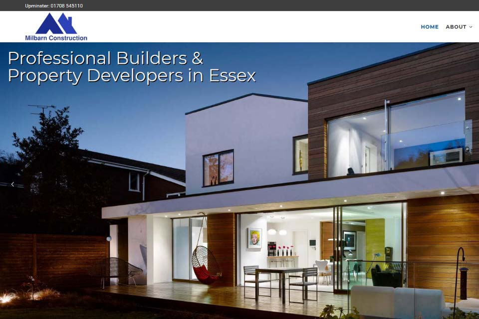 Essex Roofers Webdesign